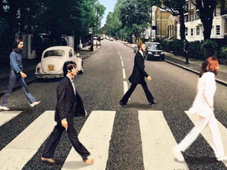 Covid-19 in The Age of Technology and The Homo Deus - The Beatles Social Distancing Abbey Road