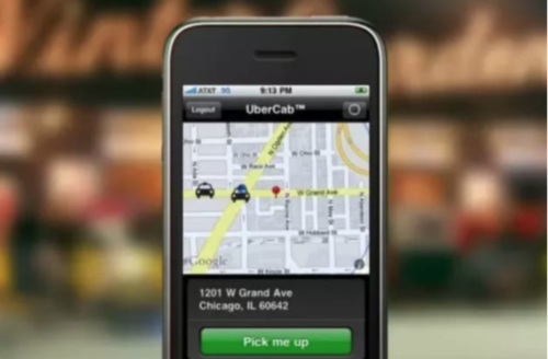UberCab - MVP Example