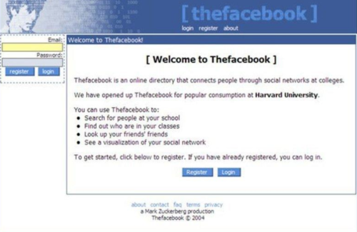 thefacebook –MVP Example