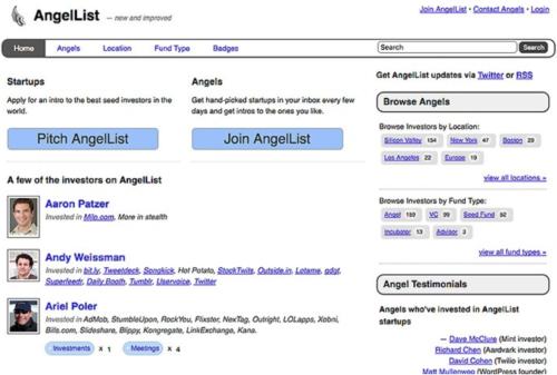 AngelList MVP example
