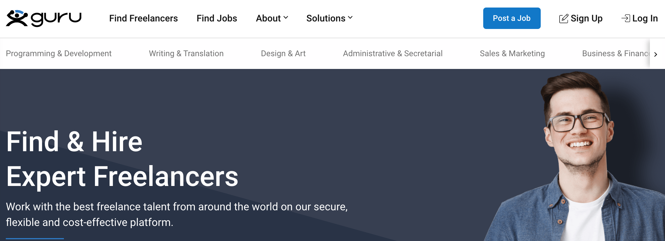 Guru: Find & HIre Freelance Developers