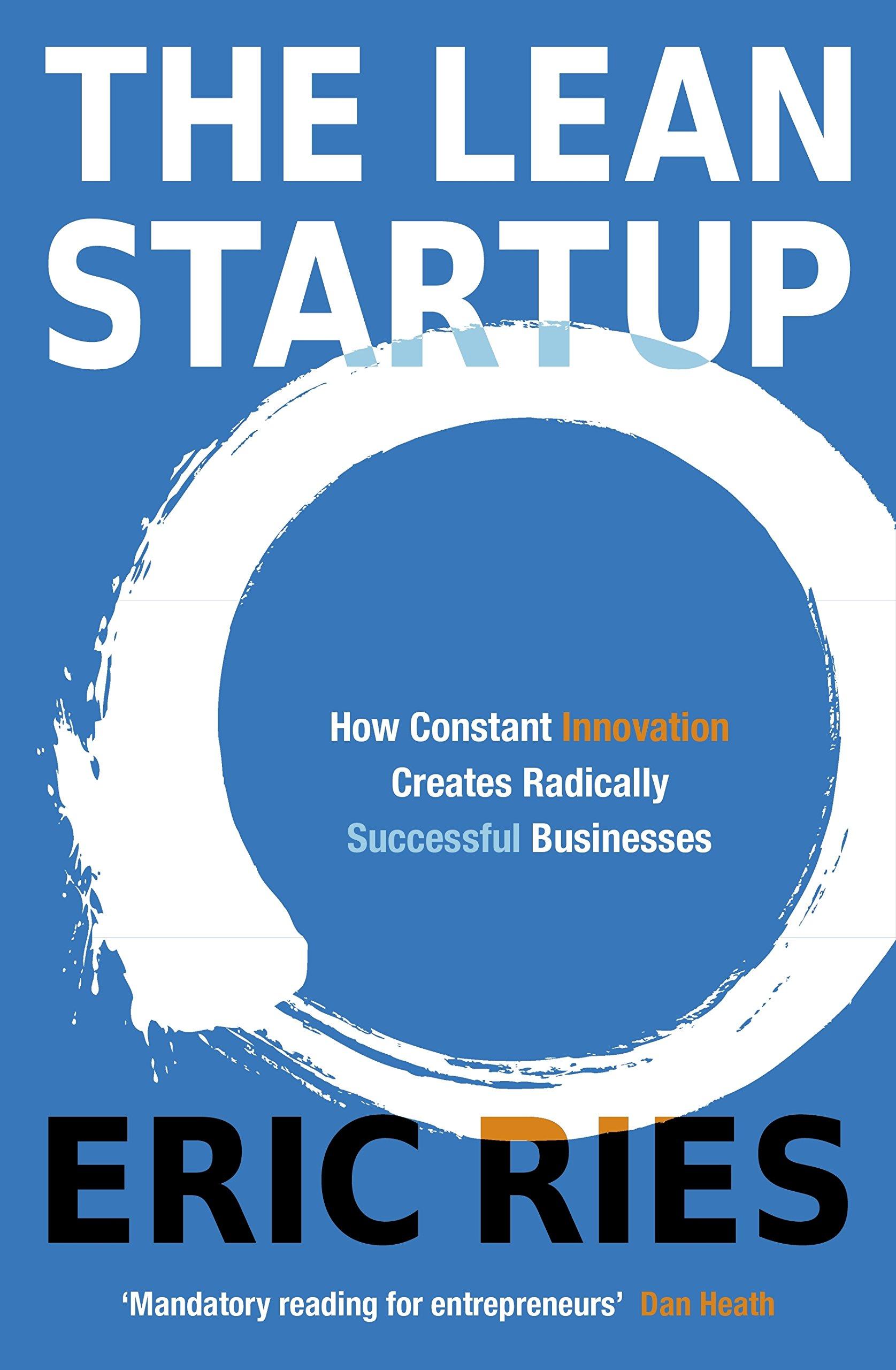 The Lean Startup - books for entrepreneurs