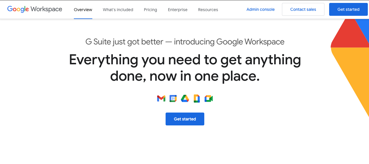 Tools for Entrepreneurs - Google Workspace