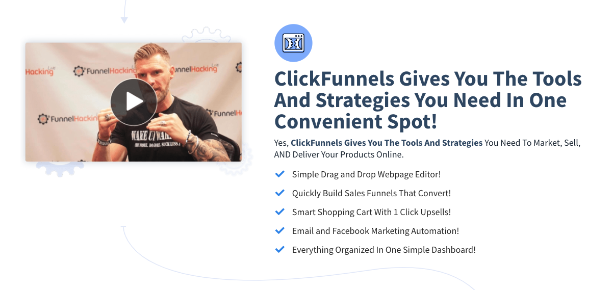 Tools for Entrepreneurs – ClickFunnels