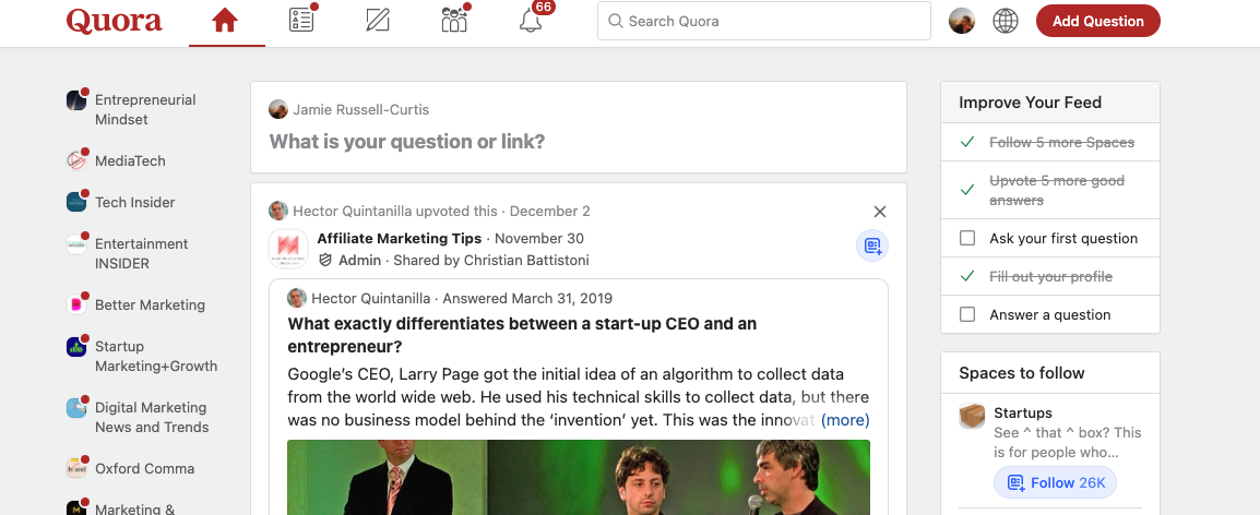 Tools for Entrepreneurs – Quora
