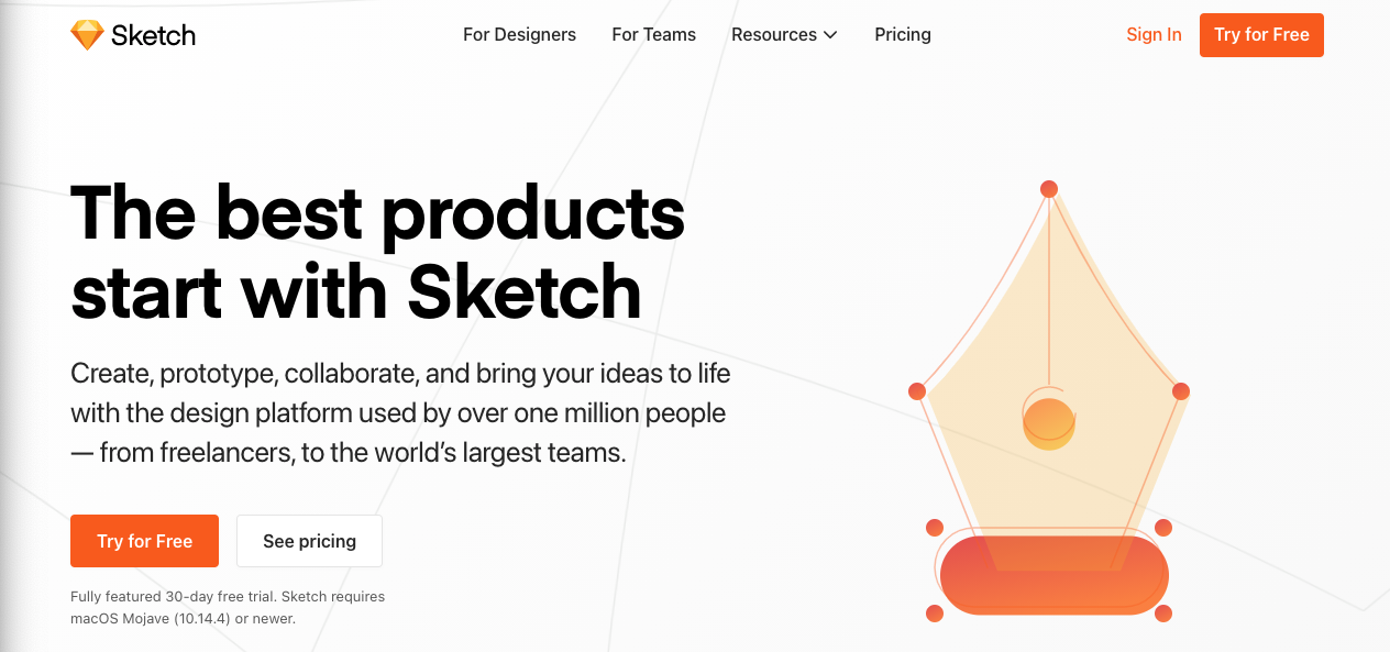 Tools for Entrepreneurs - Sketch