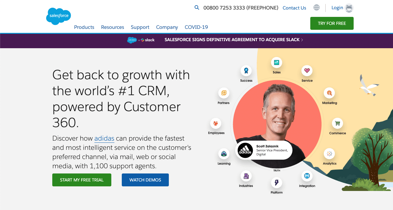 Tools for Entrepreneurs – Salesforce