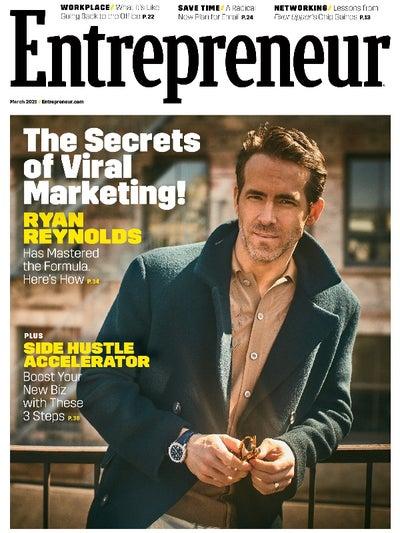 01 Entrepreneur Cover - Business Magazines for Entrepreneurs