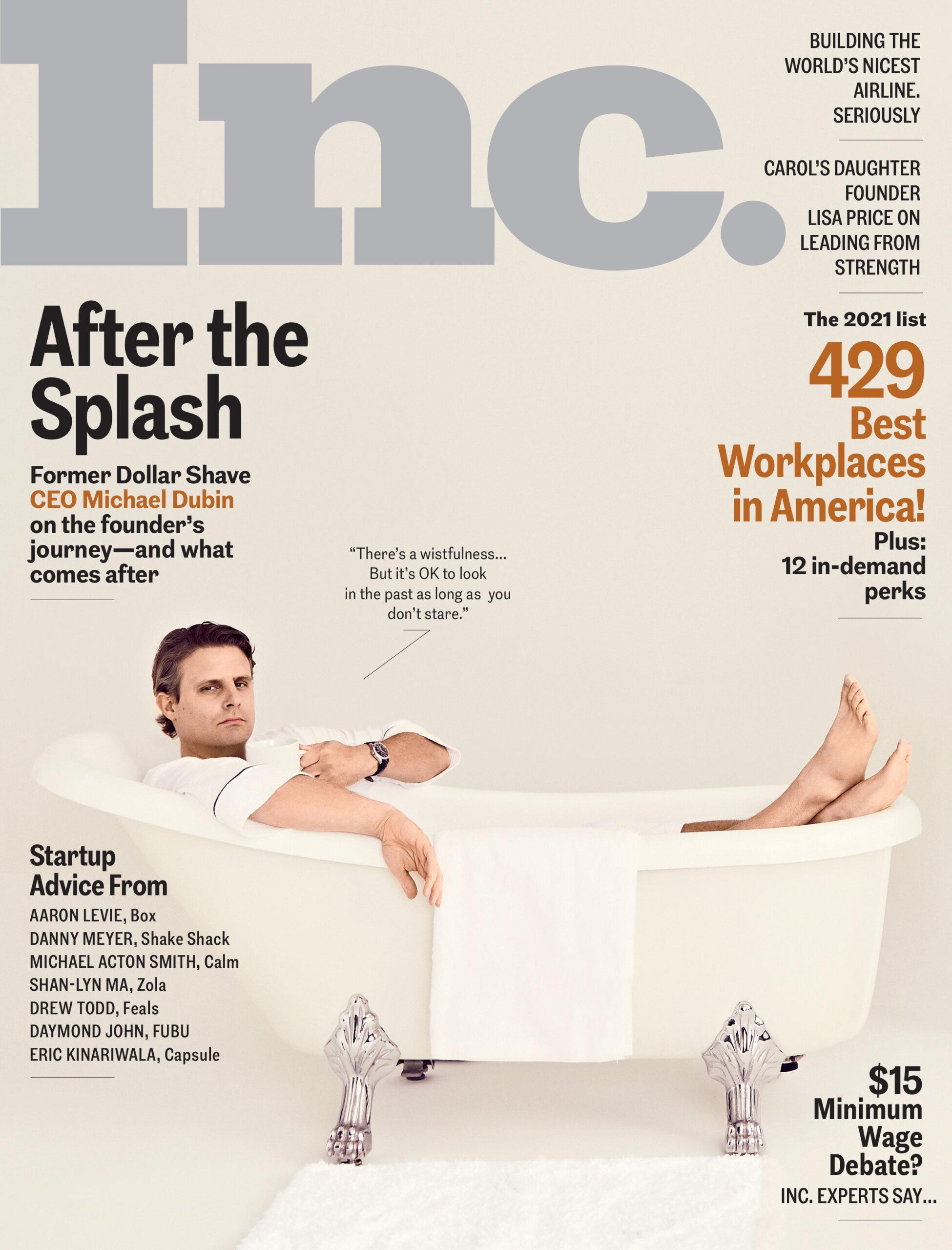 Inc Cover - Business Magazines for Entrepreneurs