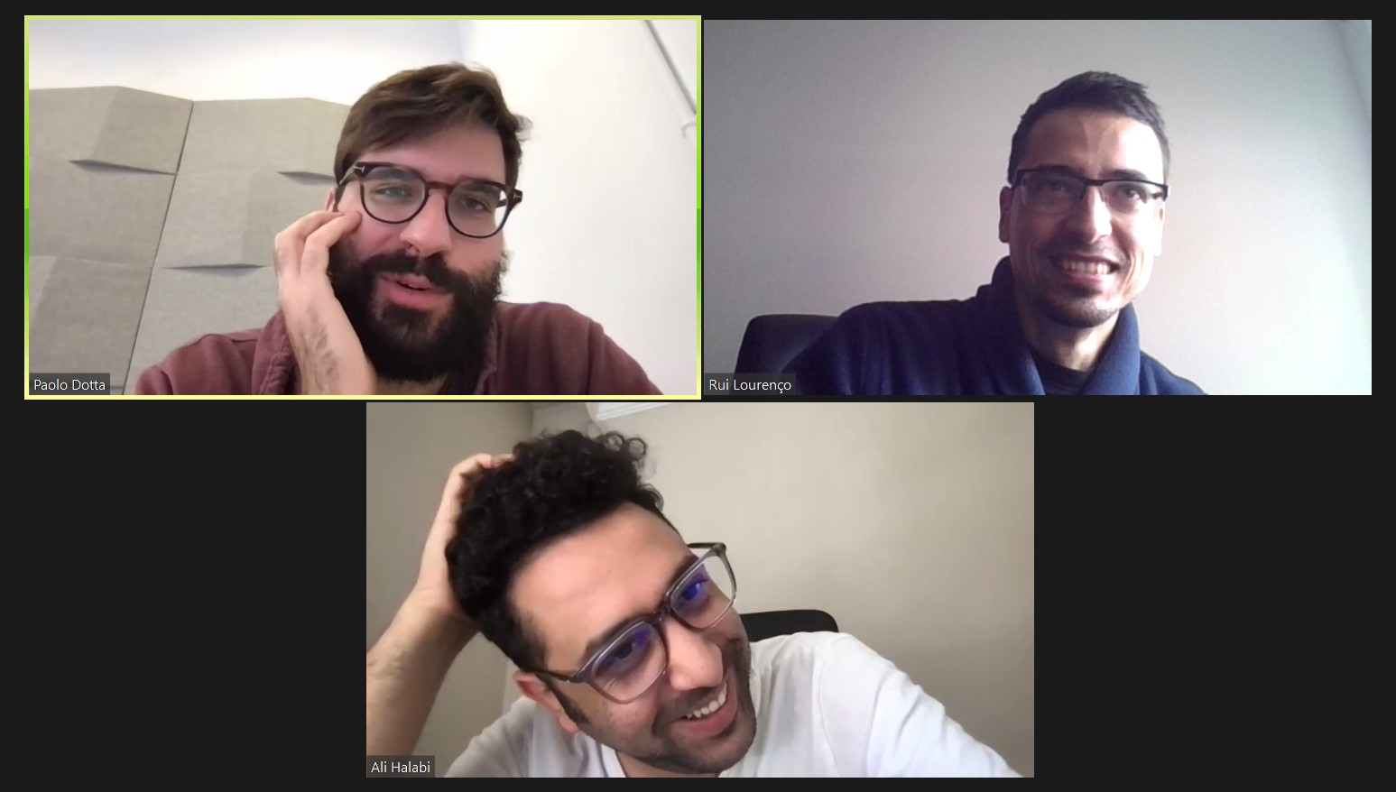 Zoom call with Ali Halabi on why you should focus on problems, not solutions